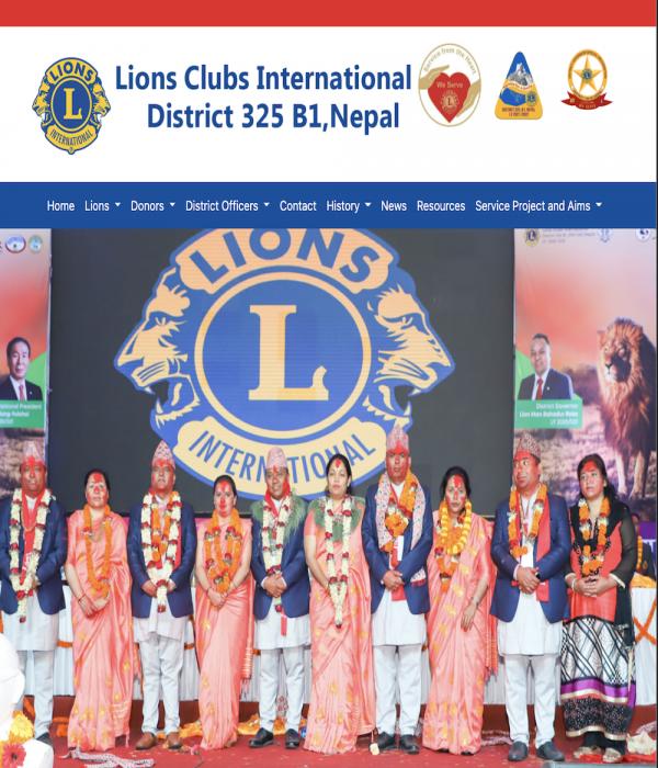 Lions Clubs 325 B1 Website